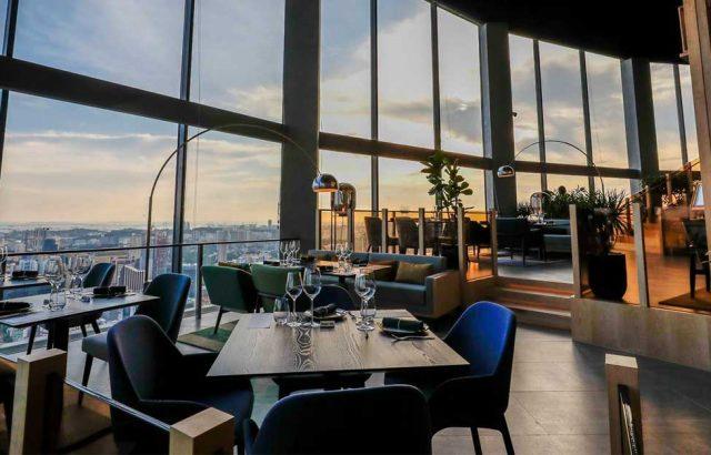 romantic restaurants singapore skai